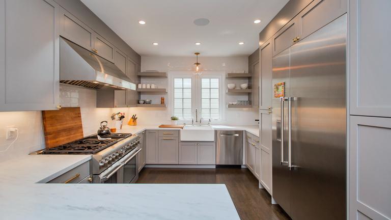 1927 Single Family Home Kitchen