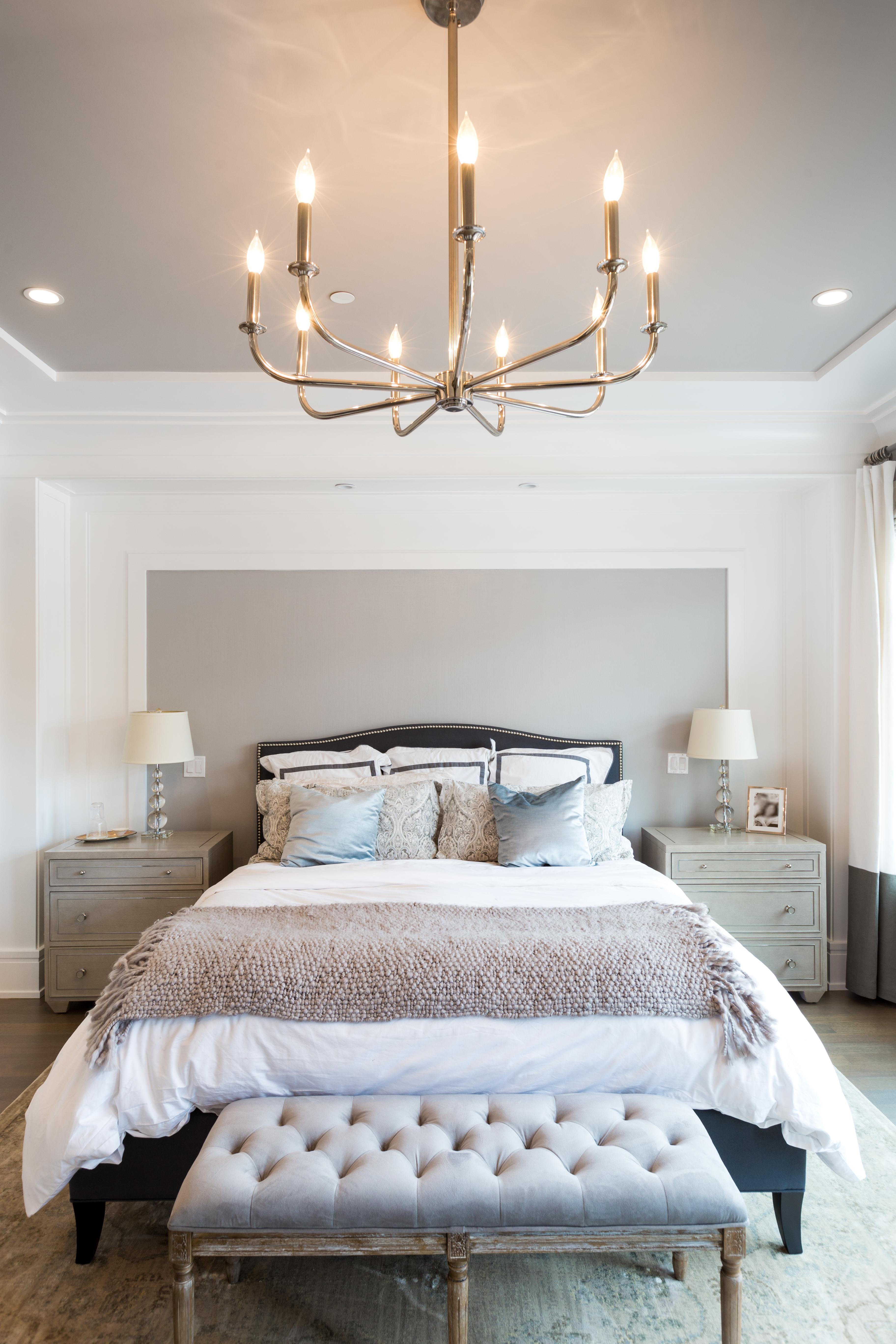 Lincoln Park Master Bedroom | Avery Graham Interiors LLC